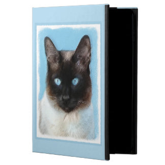 Siamese Cat Painting - Cute Original Cat Art Powis iPad Air 2 Case