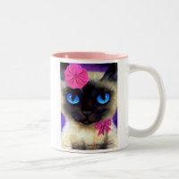 Siamese Cat Painting Mug - 155 Charming