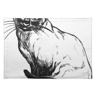 Siamese Cat Placemat