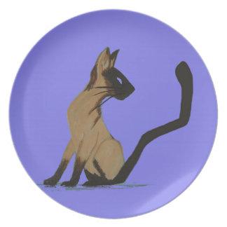 SIAMESE CAT PLATE