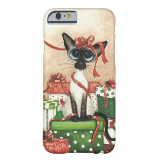 Siamese Cat Ribbon & Bows Case by Bihrle