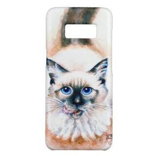 Siamese Cat Watercolor Case-Mate Samsung Galaxy S8 Case