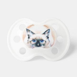 Siamese Cat Watercolor Dummy