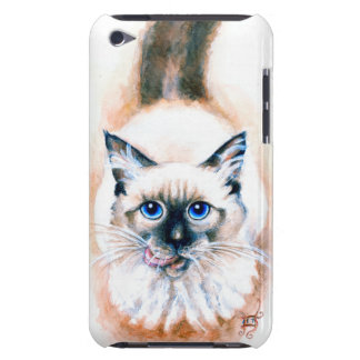 Siamese Cat Watercolor iPod Touch Case