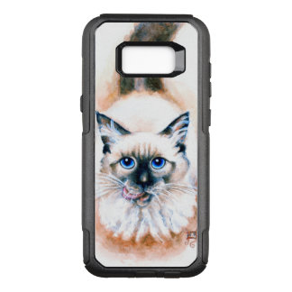 Siamese Cat Watercolor OtterBox Commuter Samsung Galaxy S8+ Case