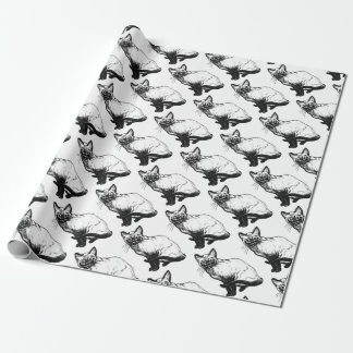 Siamese Cat Wrapping Paper