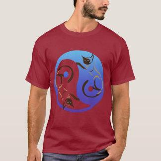 Siamese Cat Yin and YangT-Shirt T-Shirt
