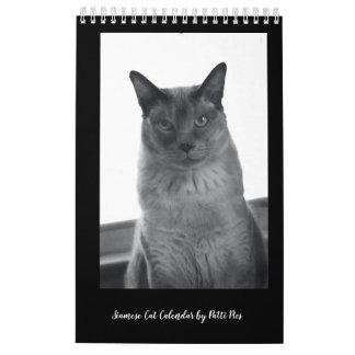 Siamese Cats Calendar