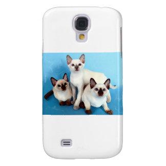 Siamese Cats Samsung Galaxy S4 Case