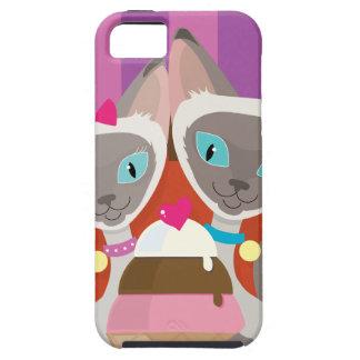 Siamese Cats Ice Cream iPhone 5 Covers