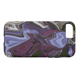 Siamese Fighting Fish Abstract Phone Case