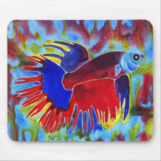 Siamese Fighting Fish design N2 mousepad