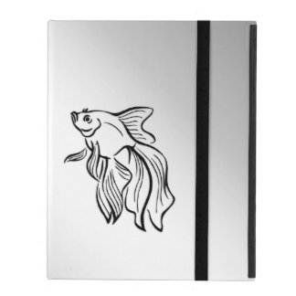 Siamese Fighting Fish iPad Case