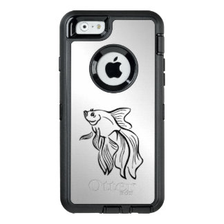 Siamese Fighting Fish OtterBox Defender iPhone Case