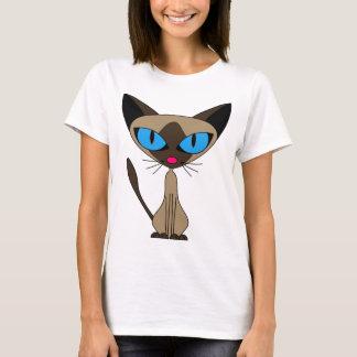 Siamese If You Please  - Cartoon Siamese Cat T-Shirt