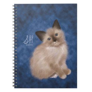 Siamese Kitten Notebook