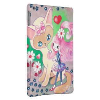 Siamese Kitty Love Fun iPad Air Cover