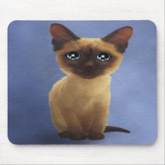 Siamese kitty mousepad