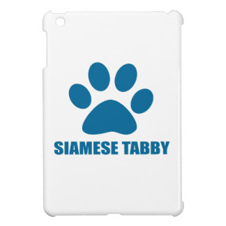 SIAMESE TABBY CAT DESIGNS iPad MINI COVER
