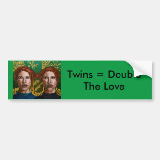 Siamese Twins 5 Bumper Sticker