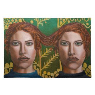 Siamese Twins 5 Place Mats