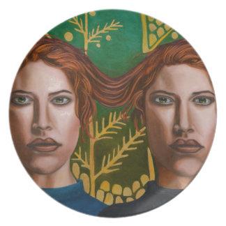 Siamese Twins 5 Plates