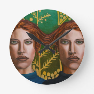 Siamese Twins 5 Wallclocks
