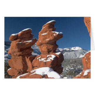 Siamese Twins and Pikes Peak Cards