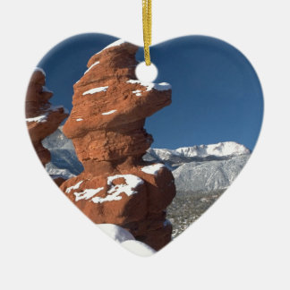 Siamese Twins and Pikes Peak Christmas Tree Ornaments
