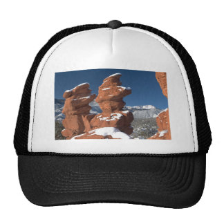 Siamese Twins and Pikes Peak Trucker Hat