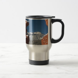 Siamese Twins and Pikes Peak Coffee Mug