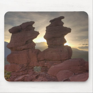 Siamese Twins at Sunset Mouse Pad