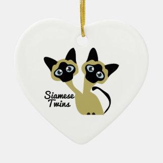 Siamese Twins Ornaments