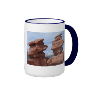 Siamese Twins- Garden of the Gods Ringer Mug