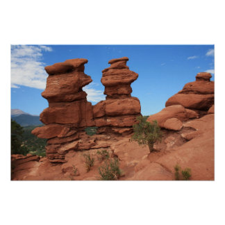 Siamese Twins ~ Garden of the Gods Poster
