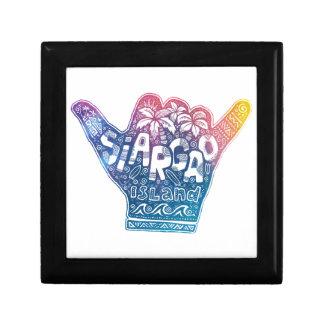 Siargao island surfing shaka hand gift box
