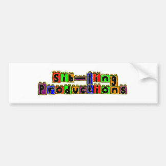 Sib-Ling Logo Car Bumper Sticker