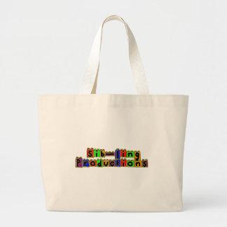 Sib-Ling Logo Jumbo Tote Bag
