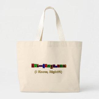 Sib-Lings com Logo Canvas Bag
