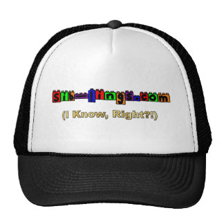 Sib-Lings com Logo Trucker Hats