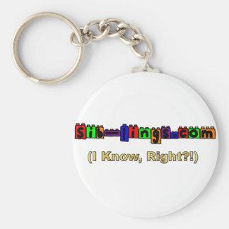 Sib-Lings com Logo Key Chain