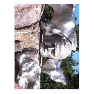 Sibelius's Head Postcard