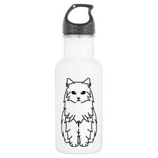 Siberian Cat Cartoon 532 Ml Water Bottle