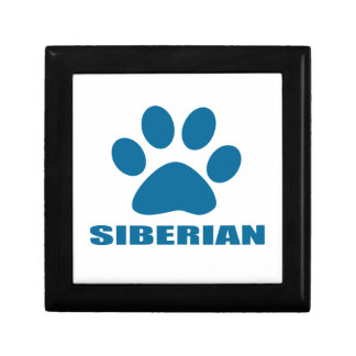 SIBERIAN CAT DESIGNS GIFT BOX