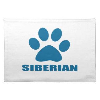 SIBERIAN CAT DESIGNS PLACEMAT