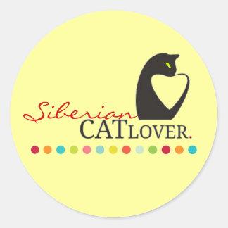 Siberian Cat Lover Sticker