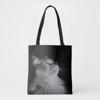 Siberian Cat Tote Bag