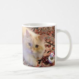 Siberian Forest Cat & Toy Coffee Mug