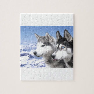 Siberian Huskies Puzzle