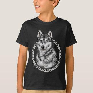 Siberian Husky 001 Tee Shirts